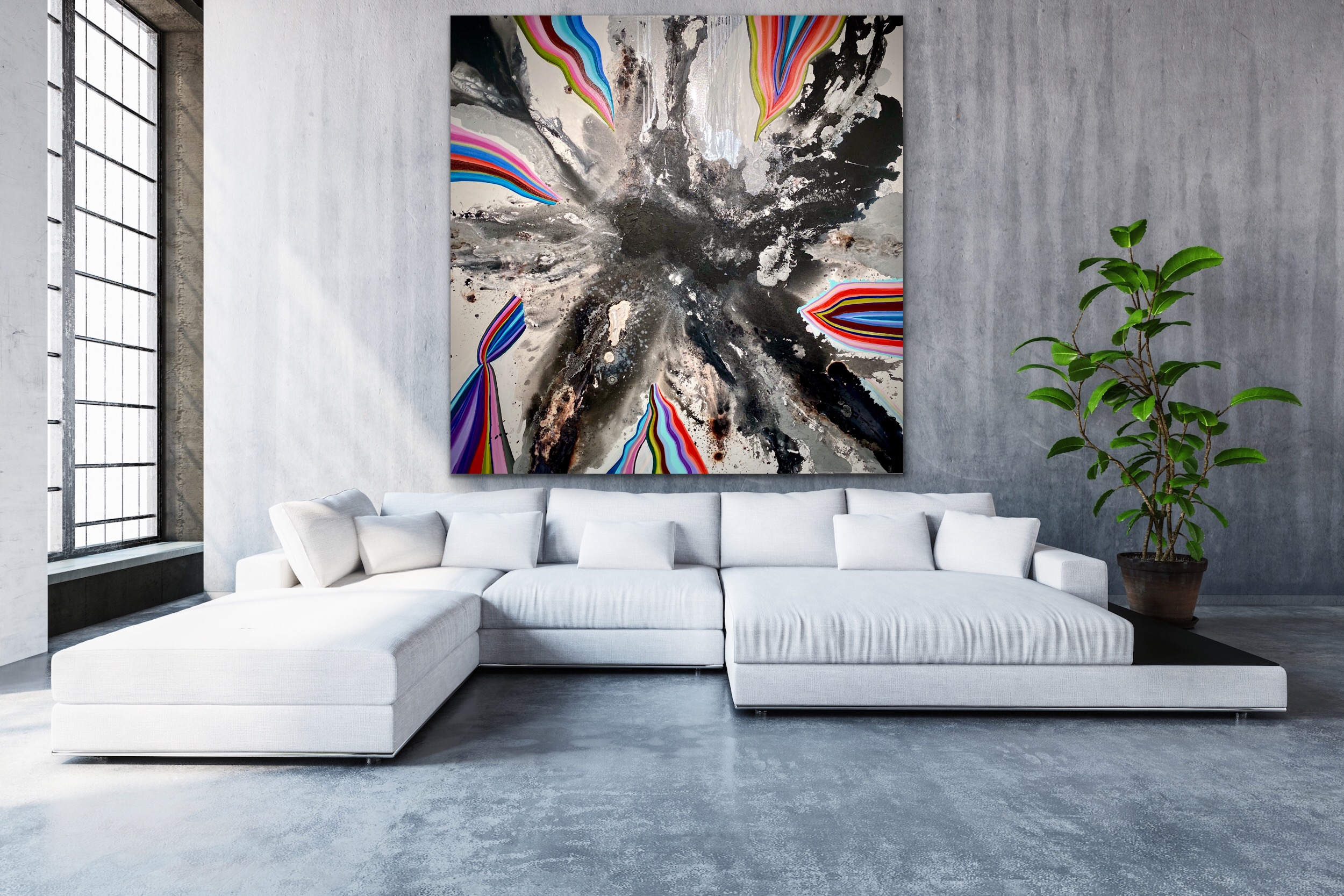 CHRISTI MERIL ART-HIGHER GROUND-DALLAS ABSTRACT EXPRESSIONIST-DALLAS ABSTRACT ARTIST-DALLAS LARGE ABSTRACT ART-3