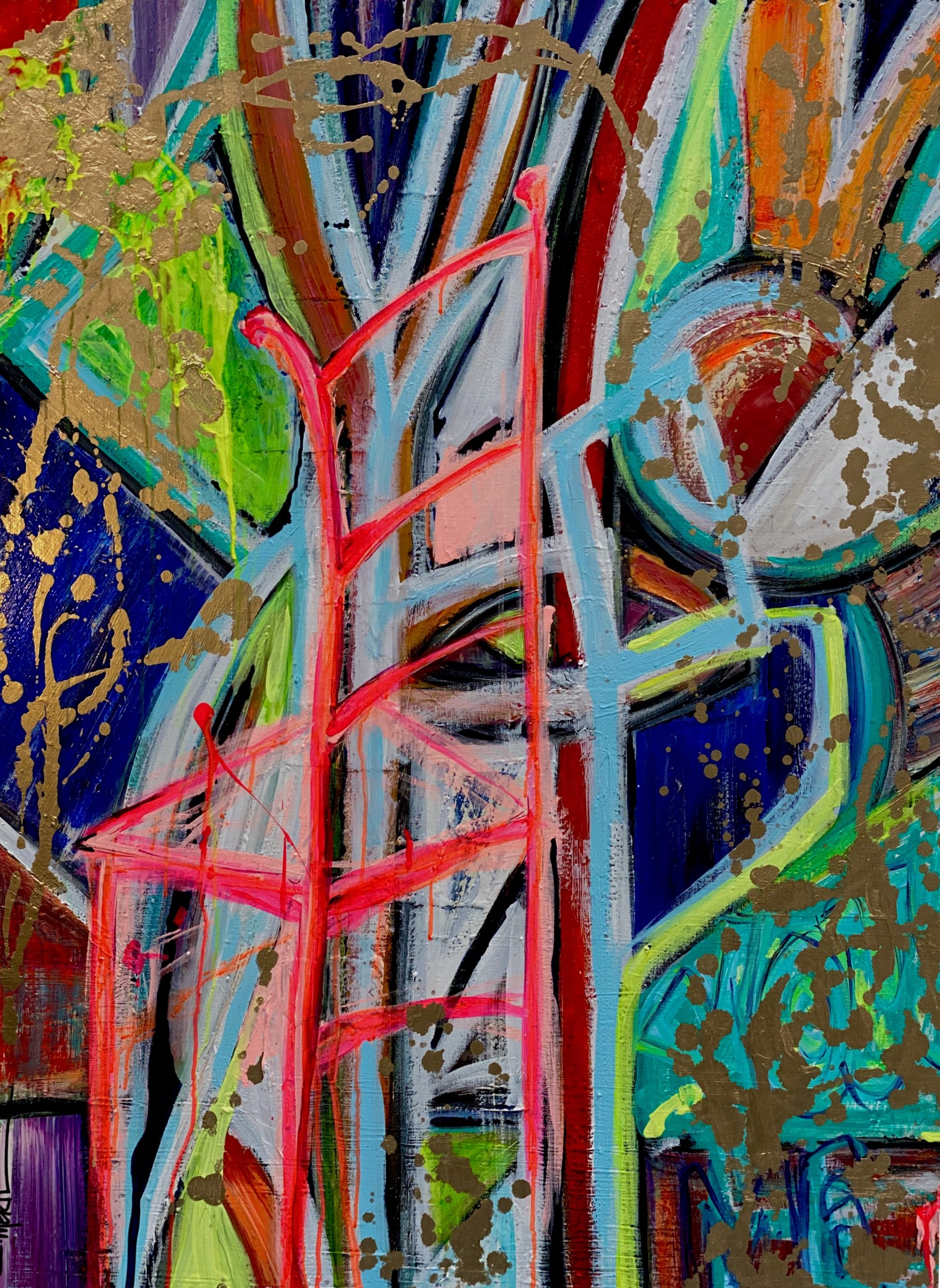 CHRISTI MERIL ART-THIS ONE'S DEDICATED TO YOU-DALLAS ABSTRACT EXPRESSIONIST-DALLAS ABSTRACT ARTIST-DALLAS CHAIR ART-2